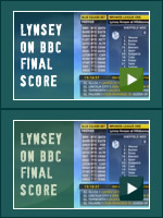 Lynsey on BBC Final Score