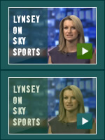 Lynsey on Sky Sports